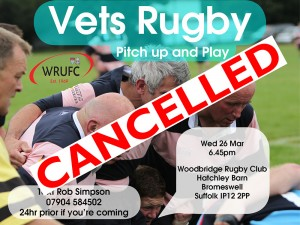 Vets promo Mar 2014 Cancelled