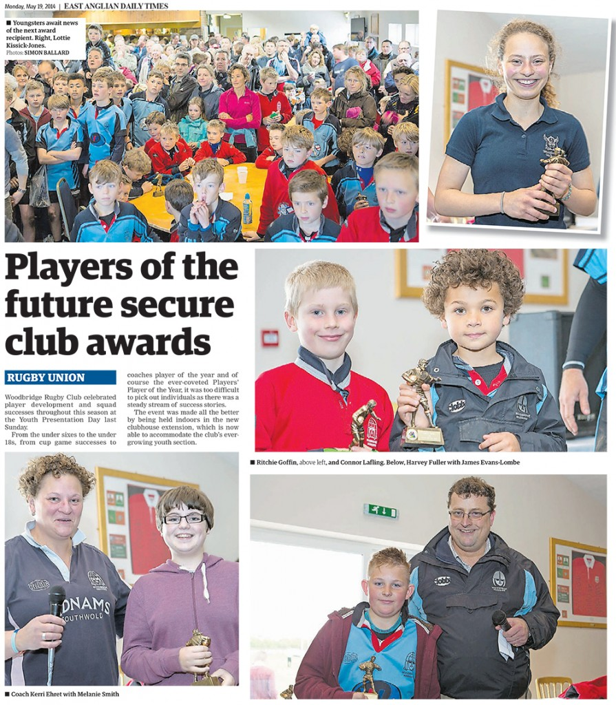 Players of the future secure Club awards EADT 19_5_14