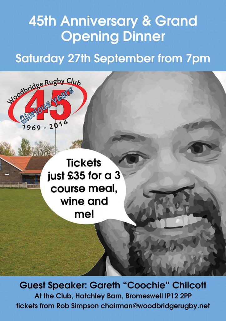 45 Anniversary Dinner poster web