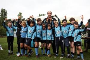 Woodbridge U9 shield winners
