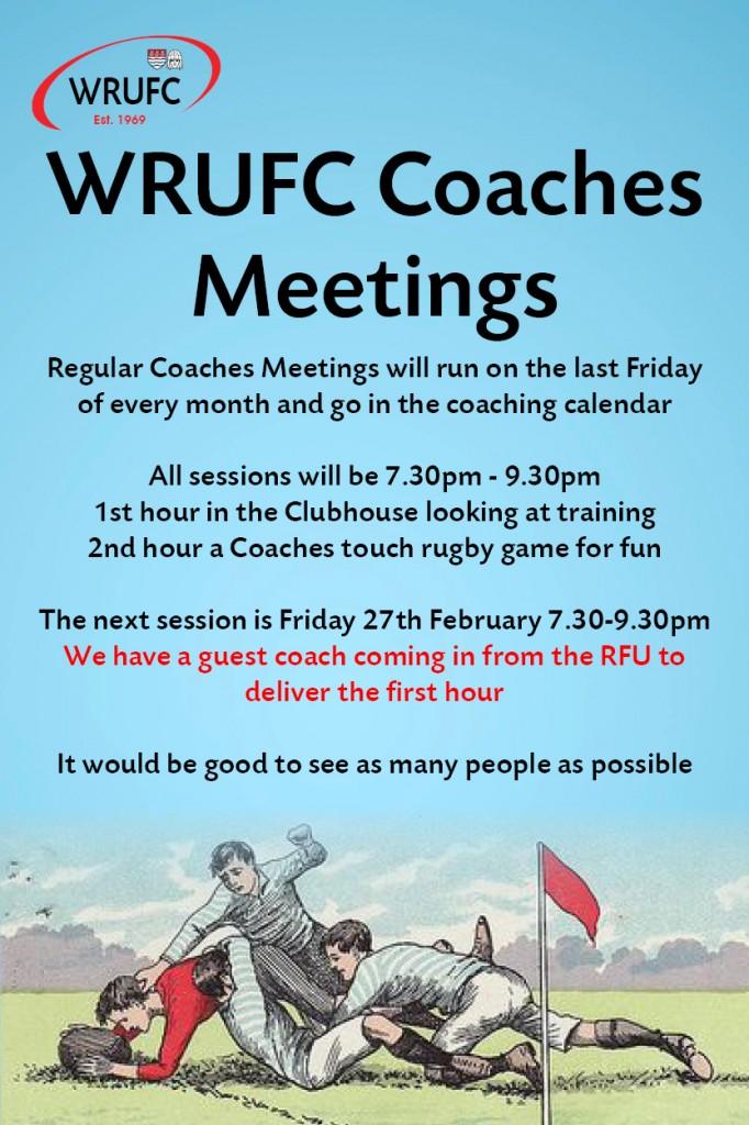 Coaches Meetings