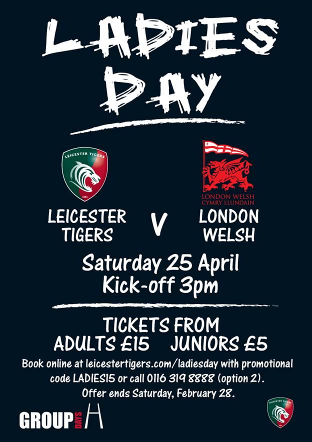 Leicester Tigers Ladies Day