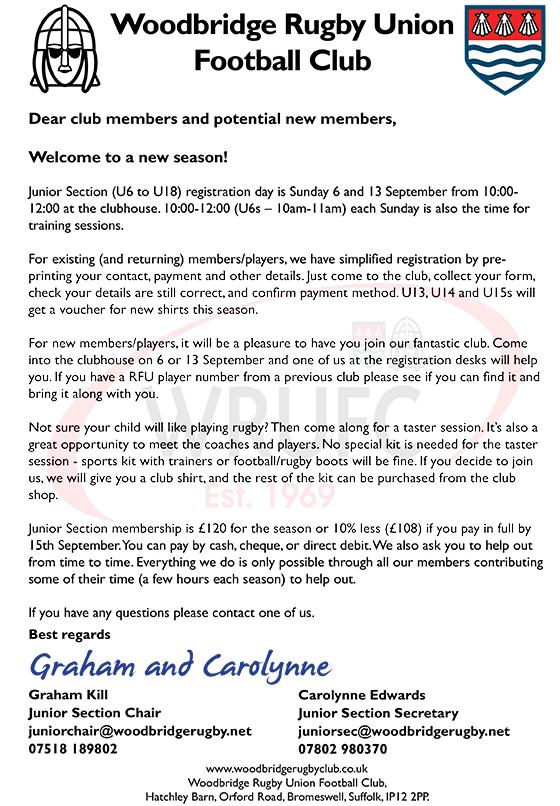 Registration letter 2015-16